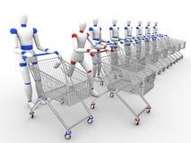 Time to shopping. Royalty Free Stock Photos