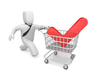 Time to shopping Royalty Free Stock Image