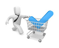 Time to shopping Royalty Free Stock Photos