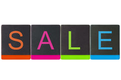 Time to shopping, sale season Royalty Free Stock Images