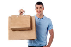 It is the time to shopping Stock Images