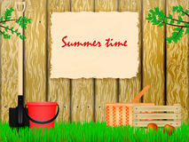 Time to the summer cottage Stock Image