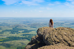 Time to think. Calmness Royalty Free Stock Photos