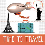 Time to travel Royalty Free Stock Images