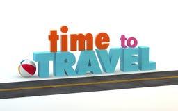 Time to travel Stock Photos