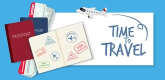 A time to travel icon. Illustration stock illustration