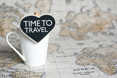 Time to travel Royalty Free Stock Photos