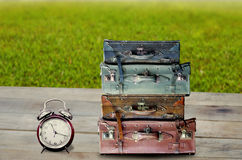 Time to travel at outdoor. Vacation concept Royalty Free Stock Photo