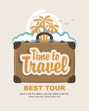 Time to travel Royalty Free Stock Photography