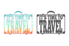Time to travel Stock Image