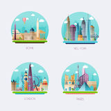 Time to travel. Travel to World. Tourism. Vector illustration Royalty Free Stock Images
