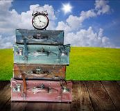 Time to visit your home. Concept Royalty Free Stock Image