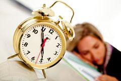 Time to wake up Stock Image