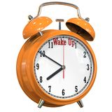 Time to wake up. This Stock Image motivates wake up on time Royalty Free Stock Photography