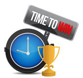 Time to win watch Stock Images