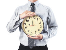 Time to work Stock Image