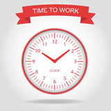 It is time to work Royalty Free Stock Photos