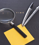 Time and tools Royalty Free Stock Photo
