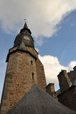 Time Tower in Dinan City Royalty Free Stock Image