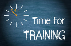 Time for training Royalty Free Stock Photos