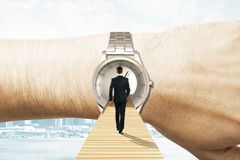 Time travel concept Royalty Free Stock Image