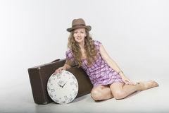 Time traveler Royalty Free Stock Image