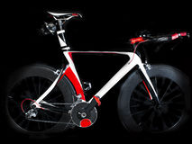 Time trial bicycle Royalty Free Stock Photos
