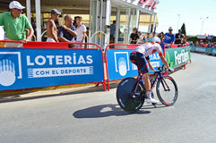 Time Trial Cycle Race IAM Cycling Royalty Free Stock Photos