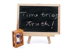 Time tries truth Royalty Free Stock Photos