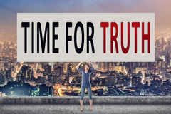 Time for truth Royalty Free Stock Photography
