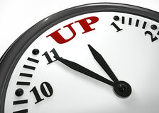 Time up Stock Photography