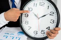 Time is up! Royalty Free Stock Image