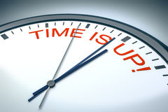 Time is up! Stock Images