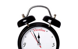 Time for vacation stock images