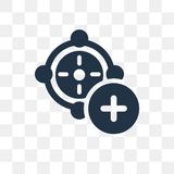 Time vector icon isolated on transparent background, Time trans royalty free illustration