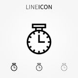 Time vector icon Royalty Free Stock Images