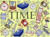 Time vector illustration Stock Photography