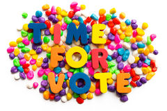 Time for vote Stock Image