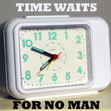 Time waits for no man Stock Photos