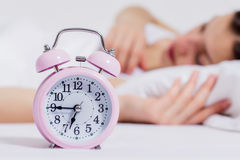 Time for Wake Up Alarm Clock Royalty Free Stock Photo
