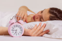 Time for Wake Up Alarm Clock Royalty Free Stock Image