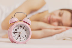 Time for Wake Up Alarm Clock Stock Image