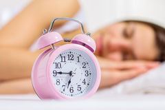 Time for Wake Up Alarm Clock Stock Photos