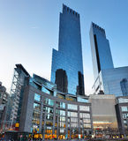 Time Warner Center. The Time Warner Center at Columbus Circle in New York City. This complex is also home to the three performance venues of Jazz at Lincoln Stock Photos