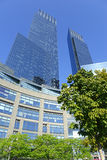 Time Warner Center in New York City Royalty Free Stock Photo
