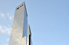 Time Warner Center Towers Royalty Free Stock Photos