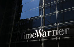 Time Warner Headquarters. New York, NY, USA - July 16, 2017: The Time Warner headquarters in New York City. Time Warner is an American multinational mass media Stock Images