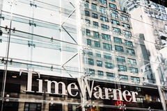 Time Warner Inc building Royalty Free Stock Image