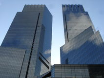 Time Warner Tower in New York. City Stock Images