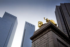 The time warner towers Stock Photography
